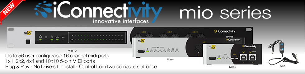 New iConnecivity Mio Series
